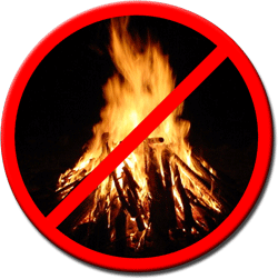 Open Air Burning Prohibited
